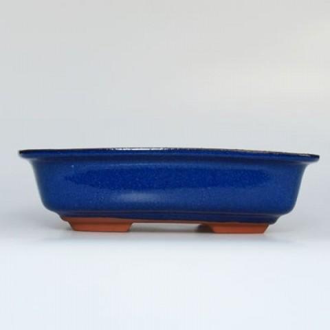 Keramická bonsai miska H 02 modrá
