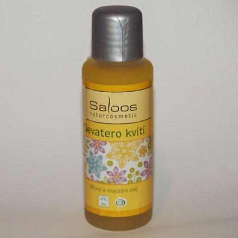 Masážní olej - Devatero kvítí
